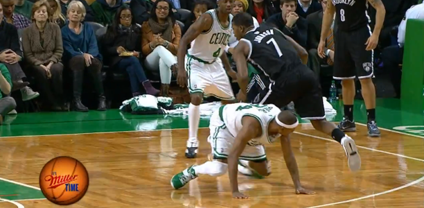 Joe Johnson drops Paul Pierce