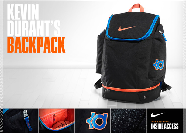 Kevin Durant's Backpack