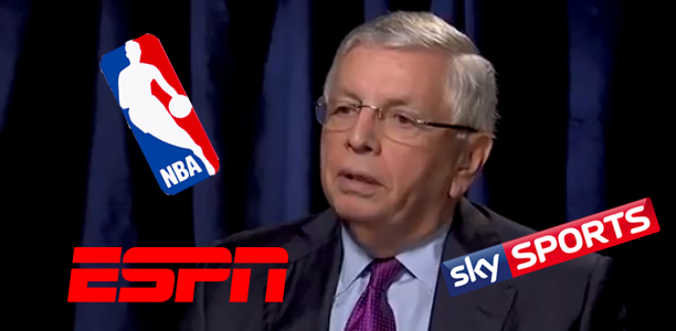 NBA in Talks With Sky Sports & ESPN, Stern Not Happy