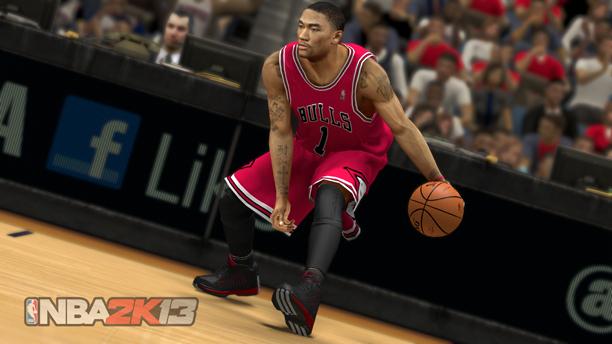 Derrick Rose NBA 2K13 Wii U