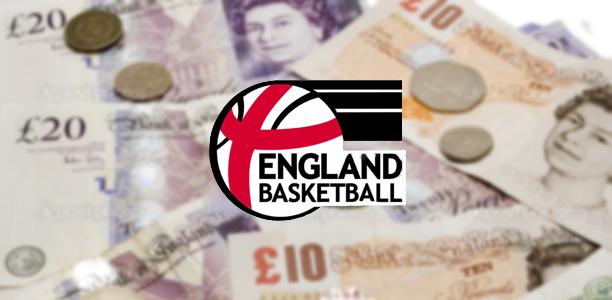 England Basketball Funding
