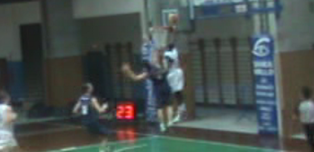 6'1″ Jules Christian ('96) POSTERIZES Defender on the Break!