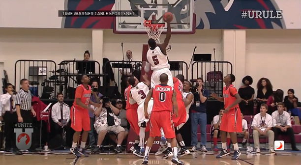 Ashley Hamilton Putback Dunk vs Pepperdine