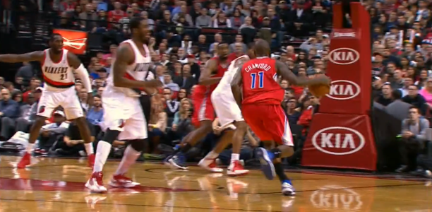 Jamal Crawford Shake and Bake vs Portland