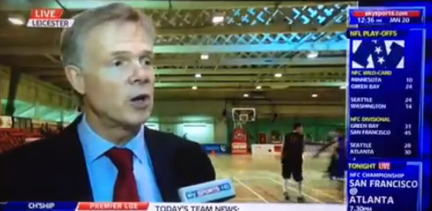 Kevin Routledge British Basketball Funding Sky Sports