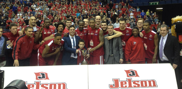 Leicester Riders 2013 BBL Cup Champions