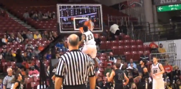 Victor Dukes Throws Down DISGUSTING Dunk of the Year Contender!