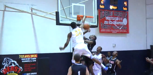 Post image for Andrew Wiggins Throws Down the POSTER! Crazy Elevation!