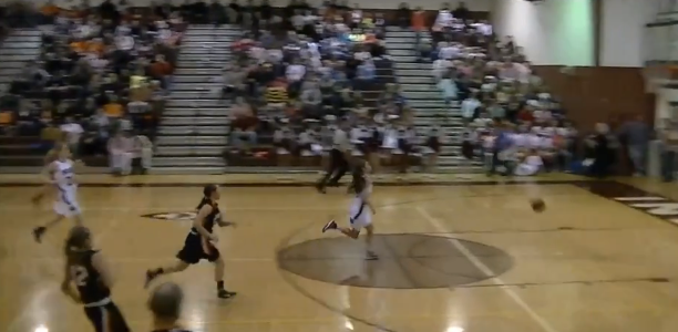 Anna Olson full court shot off bounce
