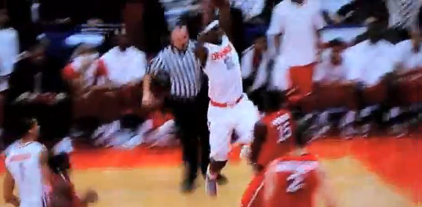 CJ Fair Dunk vs St Johns