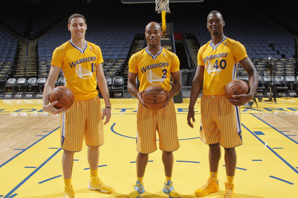 Golden State Warriors New Uniforms