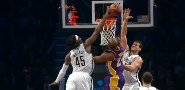 Kobe Bryant Dunk on Brooklyn Nets
