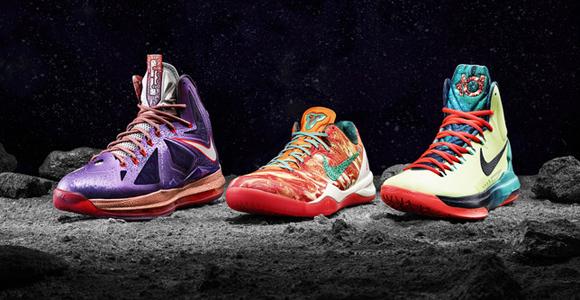 Nike All Star Releases Lebron X KD V Kobe 8 System