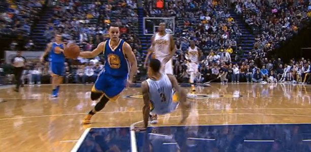 Stephen-Curry-Drops-George-Hill