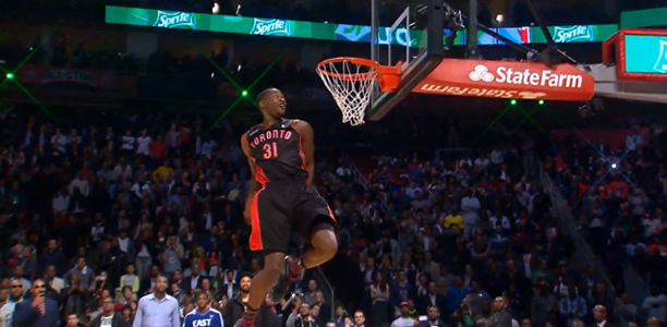Terrence Ross 2013 NBA Dunk Contest
