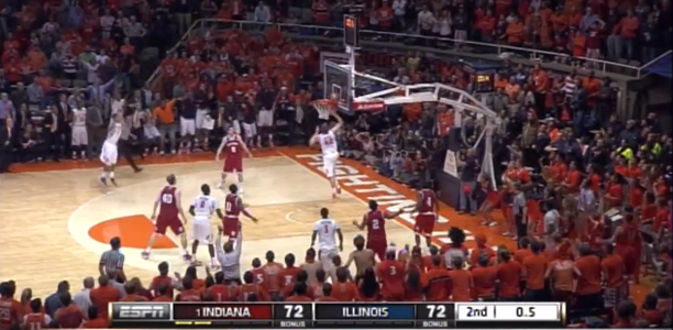 Tyler Griffey Buzzer Beater vs Indiana