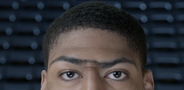 Anthony-Davis-Unibrow-Talking-Boost-Mobile