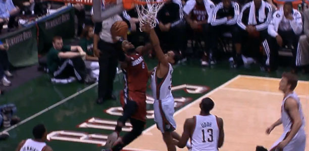 LeBron James 3 Monster Dunks vs the Bucks!