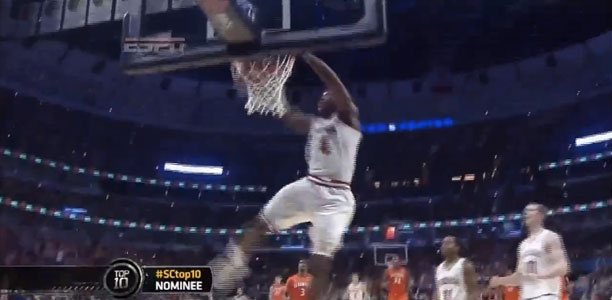 Victor Oladipo Throws Down SICK 360 on the Break!