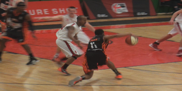Brendan Okoronkwo Shows Off the Handle at EB Final Fours!