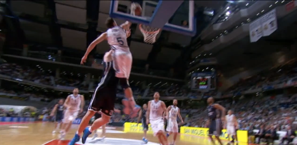 Post image for Euroleague's Top 10 Plays of the Season! Fernandez Catches the NASTY Lob!