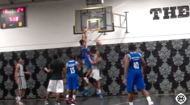 Tyrell Isaacs Dunk vs Kennington