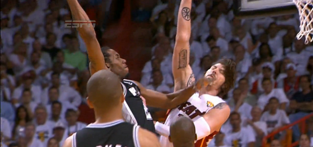 Kawhi Leonard Dunk on Mike Miller