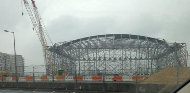 Olympic Basketball Arena Dismantled