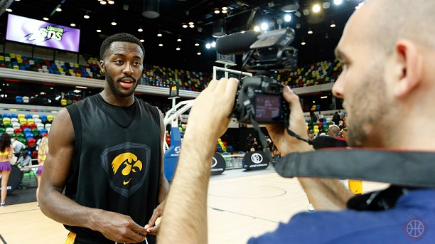 Abodunrin Gabe Olaseni Iowa Hawkeyes in London