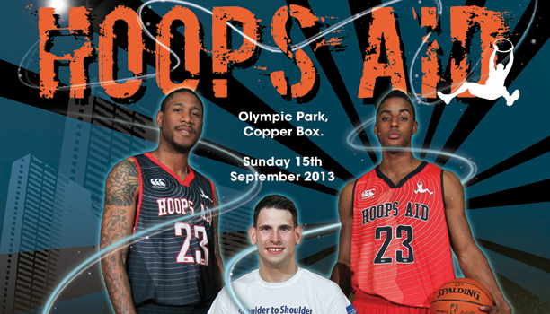 Charity Basketball Event Hoops Aid to Debut at the Copper Box
