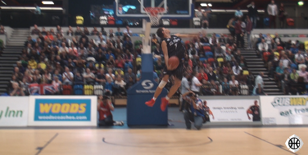 Dmitry Krivenko Hoops Aid Dunk Contest