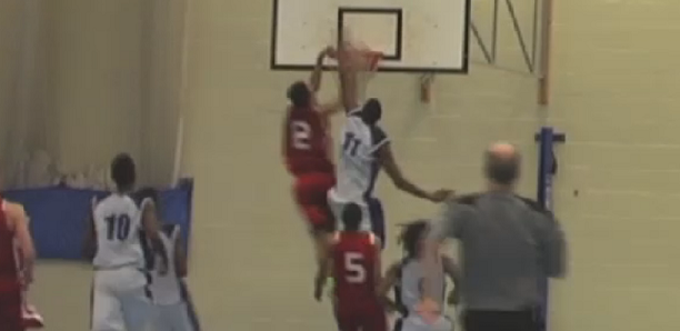 Josh Steel Dunk in Solent