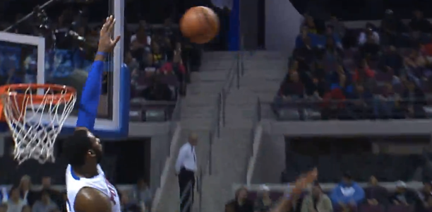 Andre Drummond Snatches the Shot Out the Air & Finishes Huge Windmill!