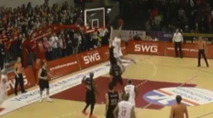 Myles Hesson Inbounds Alley Oop Dunk