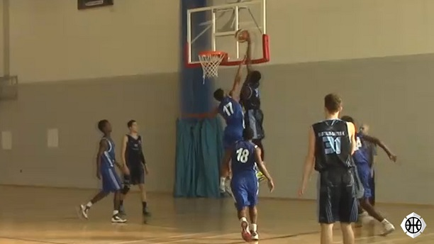 Theo Oghide Dunk on Hackney
