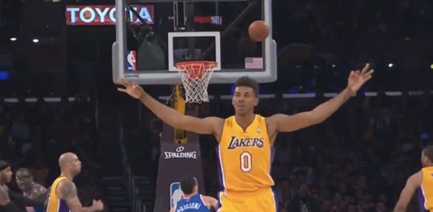 Nick-Young-Celebrates-Missed-Three-Pointer