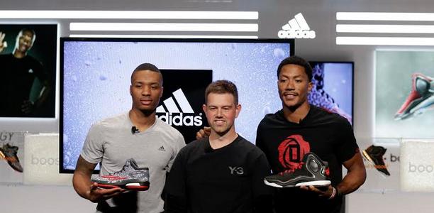 d3971ad122b Derrick Rose and Damian Lillard Help Launch adidas Boost Innovation ...