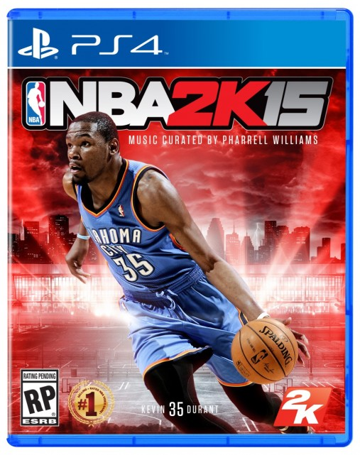 NBA 2K15 Kevin Durant Cover
