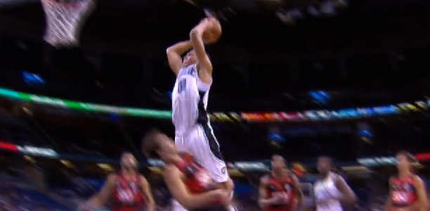 Aaron Gordon dunk