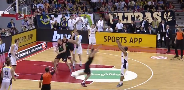 Andrew Goudelock EuroLeague record