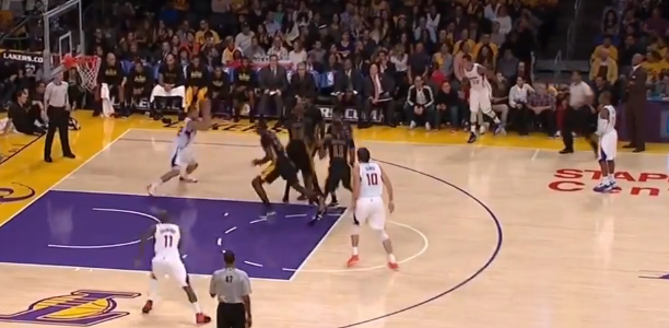 Blake Griffin Dunk v Lakers