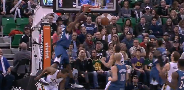 Andrew Wiggins Alley-Oop