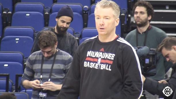 Joe Prunty Milwaukee Bucks