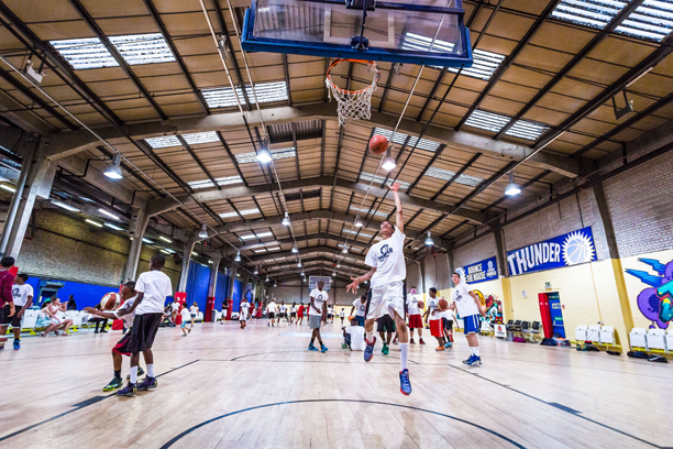London Thunderdome Basketball Facility