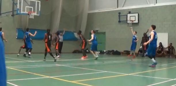 Mark James Nets the Game-Winning Three for Ipswich in U18 Playoffs First Round! (Video)