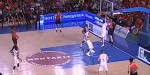 Dan Clark Attacks the Hoop & Throws it Down on Defender in Spain