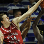 Ben Lawson Aiming for WKU Blocked Shots Record