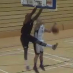 Tayo Oyefusi Catches a Body on the Lob for Team Northumbria!