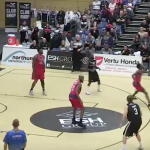 Newcastle Eagles' Scott Martin Goes OFF! 9/11 from Three for 41 Points!