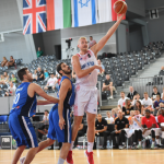 Clark Leads GB Senior Men to Victory Over Israel to Complete Prep